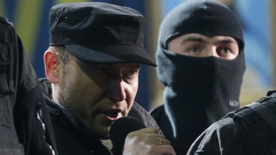 """Лидерът на """"Десен сектор"""" се кандидатира за президент на Украйна"""