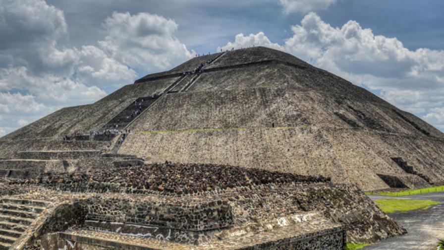 Пирамидата на Слънцето в Мексико