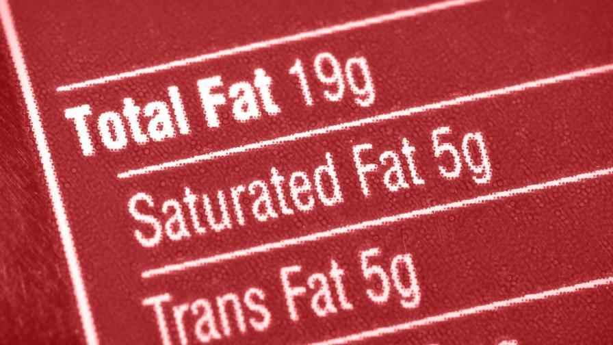 БАБХ иска обозначаване на трансмазнините в храните