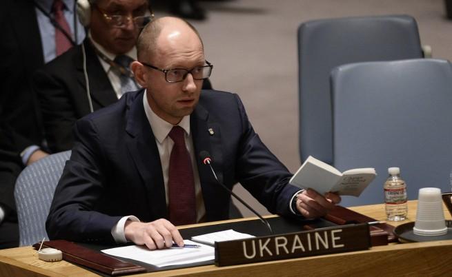Яценюк обвини МВР на Украйна в бездействие в Одеса