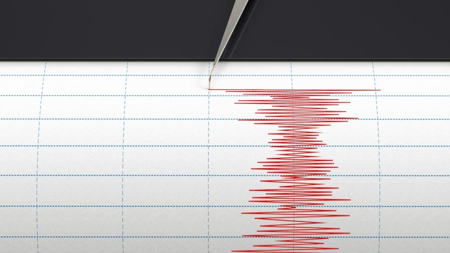 Земетресение с магнитуд 3.1 по Рихтер край Самоков