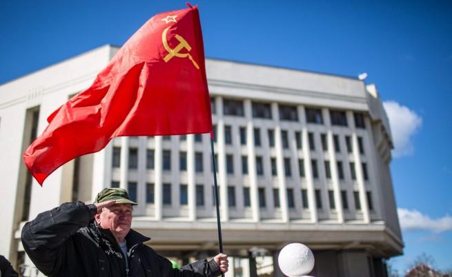Референдумът в Крим в руските и западните медии