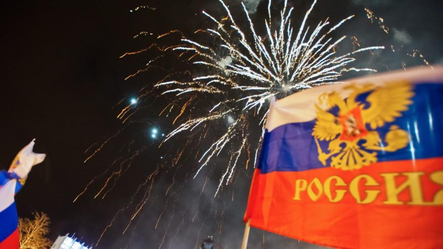 Владимир Путин одобри проектодоговора за приемането на Крим в Руската федерация