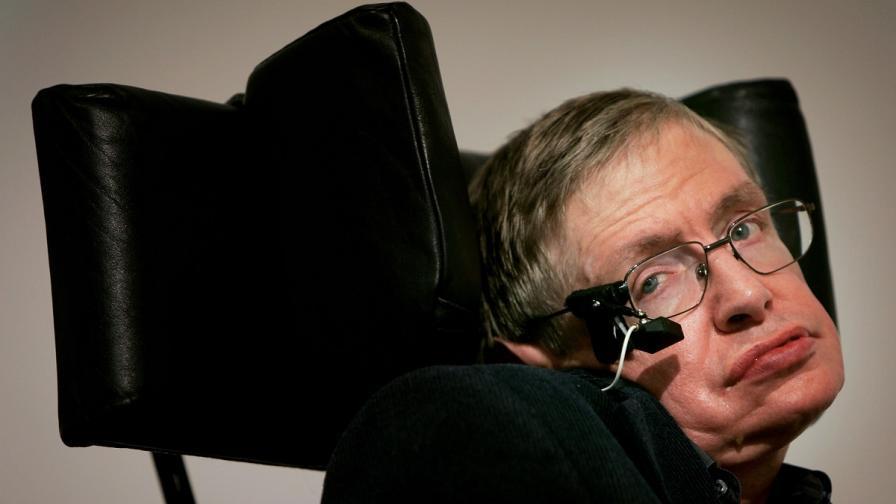 Стивън Хокинг: Аз и Дейвид Бекъм сме иконите на Острова