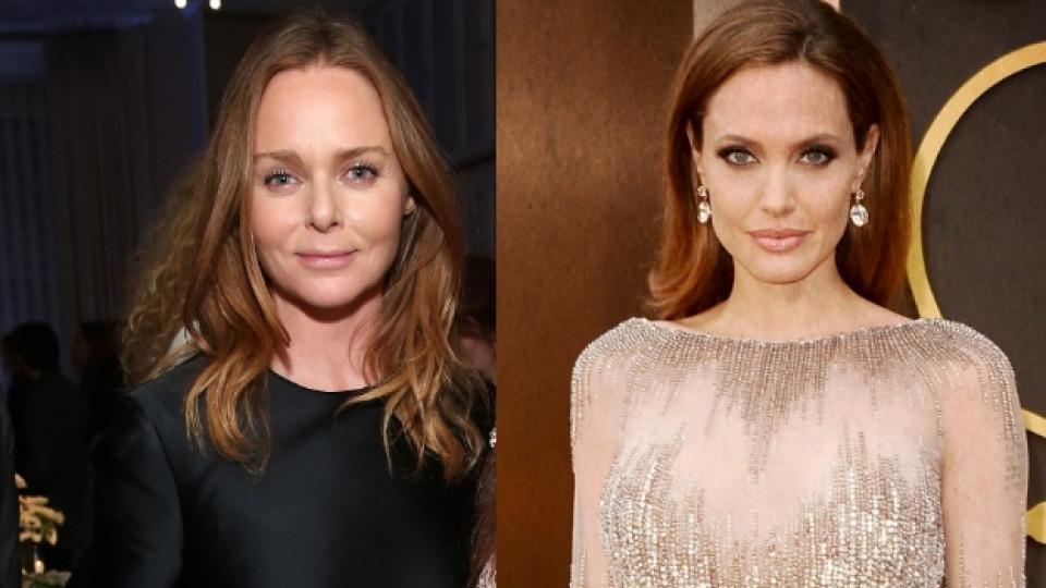 Анджелина Джоли и Стела Маккартни с общ проект