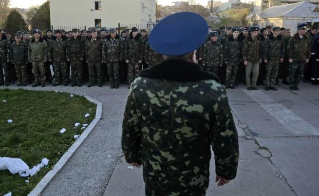 Украйна изтегля войските си от Крим