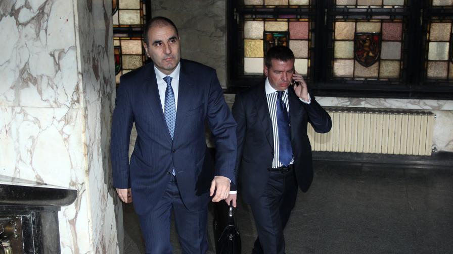 Цветан Цветанов в съда днес