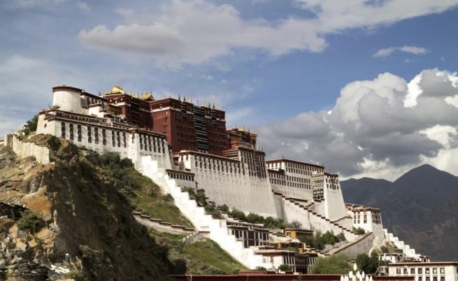 Дворецът Потала, Тибет