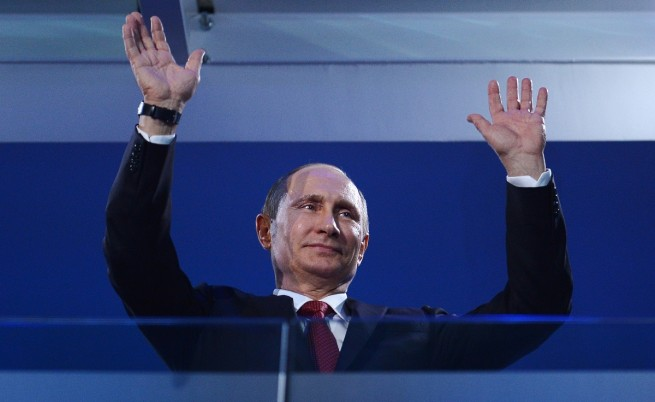 Рейтингът на Владимир Путин гони рекорди