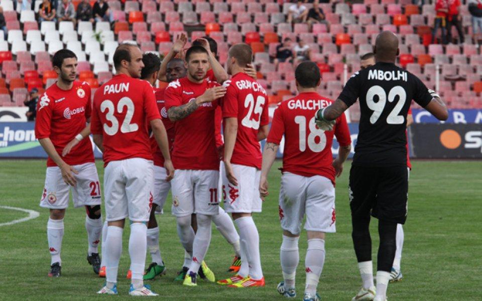 ЦСКА се скъса да пропуска, но взе своето от Ботев Враца