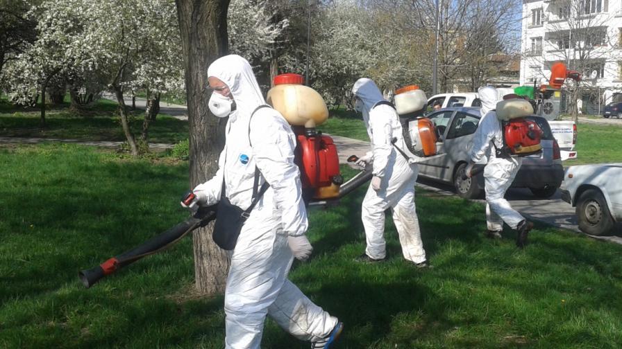 Започват обработките на парковете срещу кърлежи