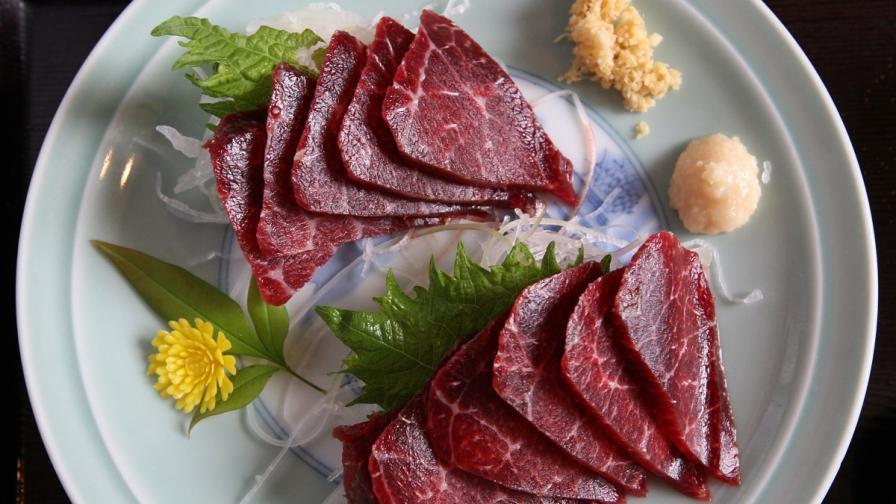 Месото от китове е деликатес в Япония