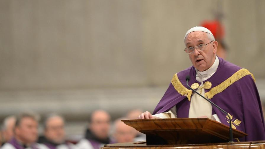 """Папата определи евтаназията за """"престъпление срещу Бога"""""""