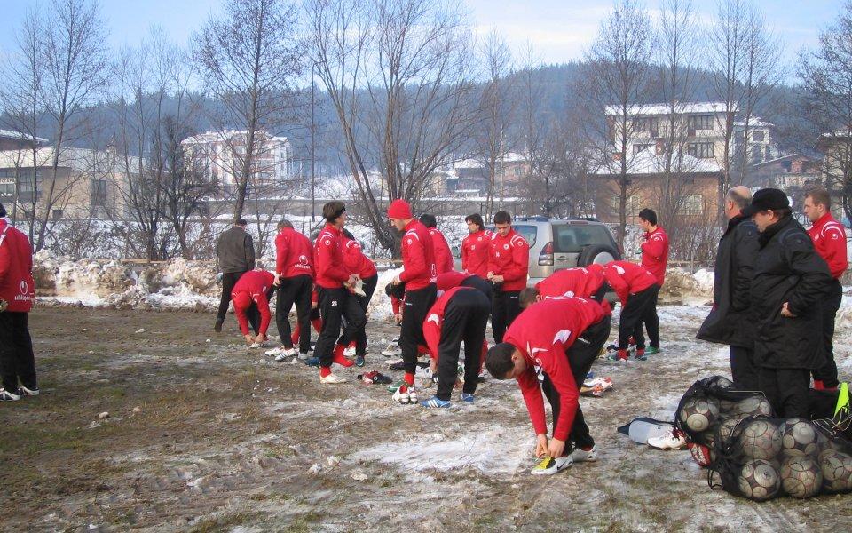 ЦСКА се превърна в основната атракция в Банско