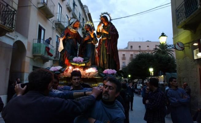 Шествие на Разпети петък в Трапани, Сицилия