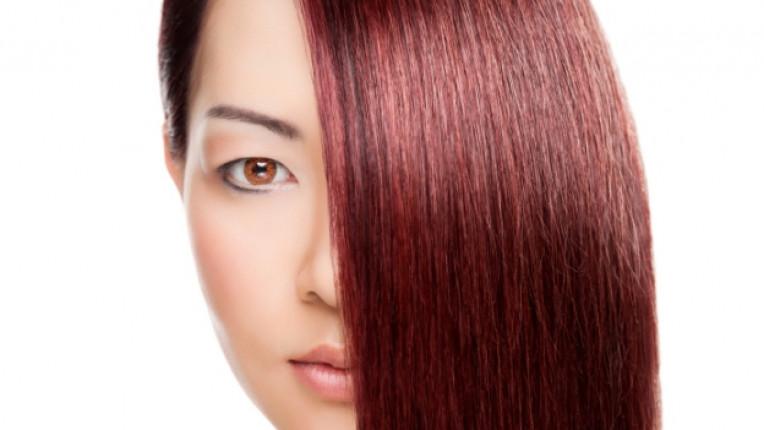 къна червена коса