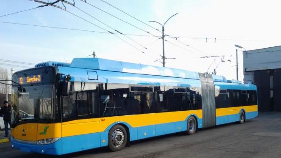 Подменят 90% от тролейбусите в София до края на 2014 г.