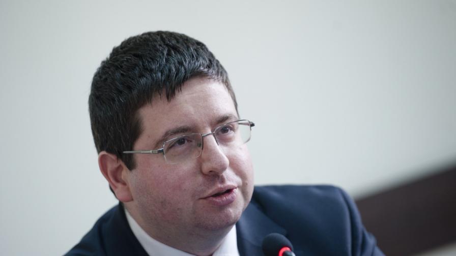 Министърът на финансите Петър Чобанов