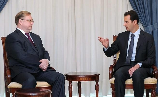 Башар Асад до Владимир Путин: Аз не съм Янукович и няма да избягам