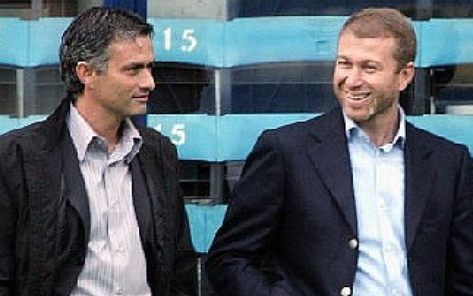 Моуриньо и Абрамович в обтегнати отношения от две години