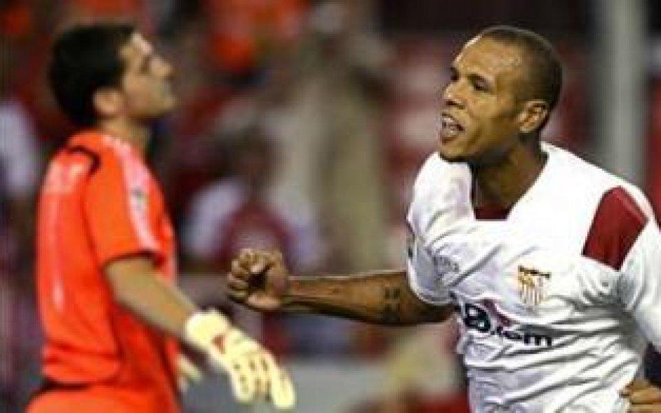 Севиля с гол преднина пред Реал за Суперкупата