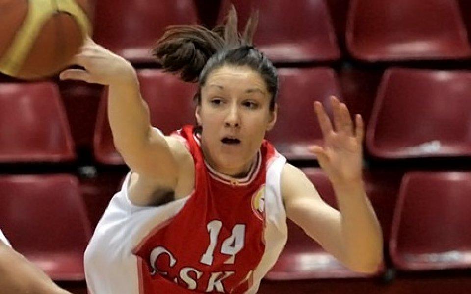 Женският баскет тим повтори съдбата на мъжете