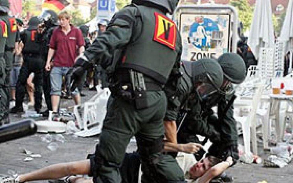 Германски полицаи ще охраняват мачове от Евро 2008