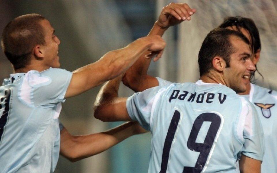 Лацио опроверга слуховете за трансфер на Пандев в Байерн