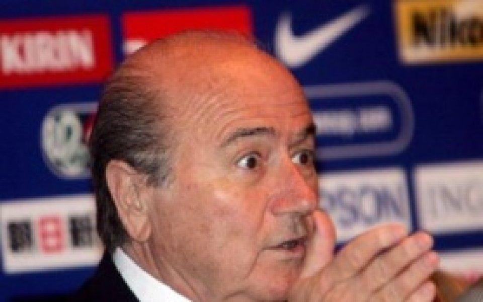 Сеп Блатер критикува Футболната асоциация на Англия
