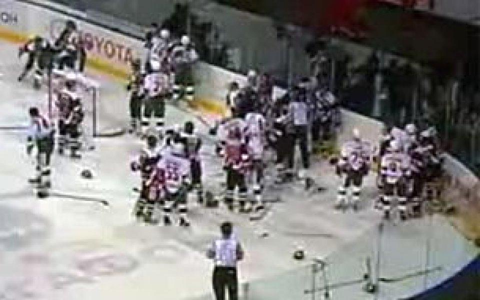 Безпрецедентен рекорд след бой регистрираха хокеистите в Русия
