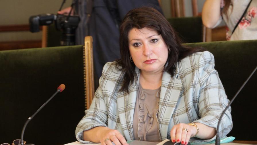 Председателят на временната анкетна комисия Сияна Фудулова