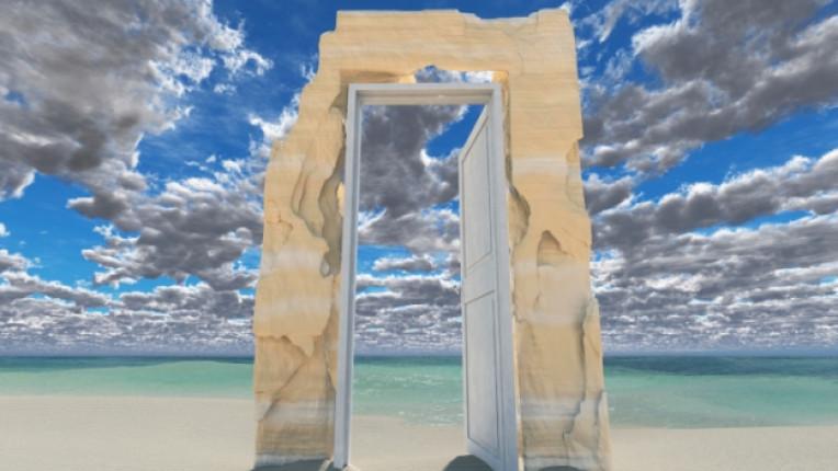 врата простор море океан хоризонт перспектива