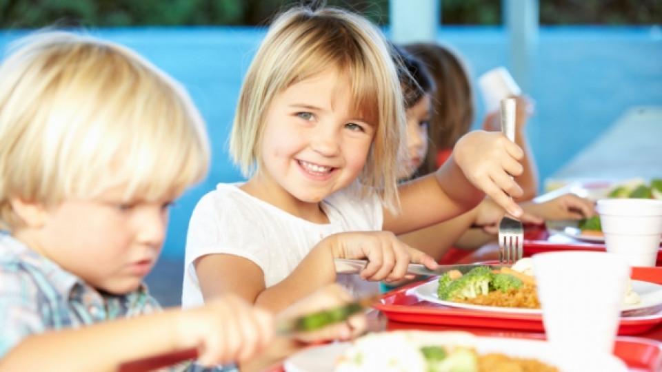 Учениците трябва да се хранят пет пъти