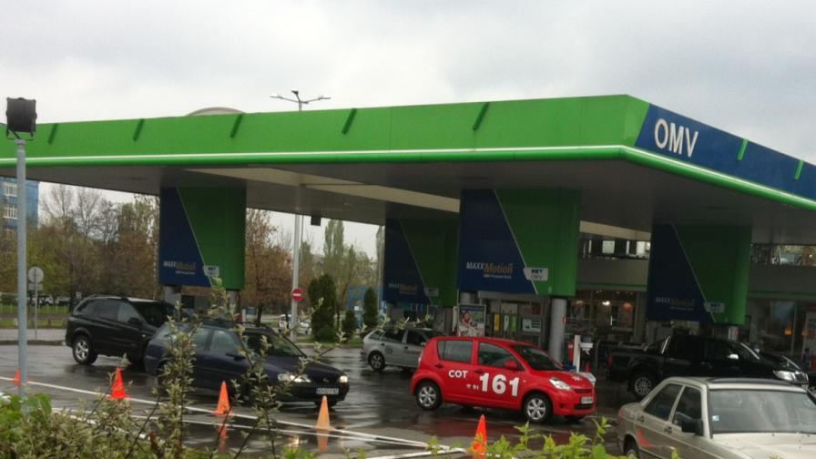 Въоръжен грабеж на бензиностанция в София