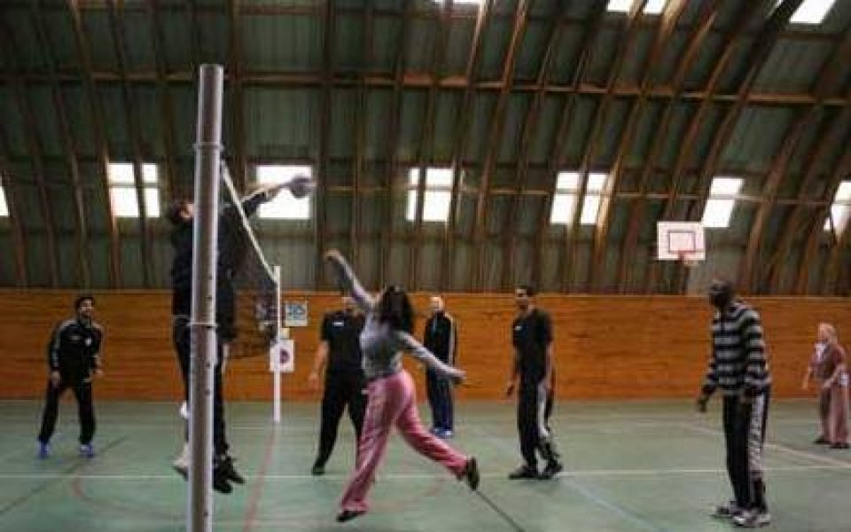 Женски затвор приюти волейболисти