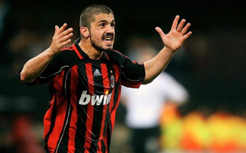 Гатузо набеляза трима нападатели за Милан