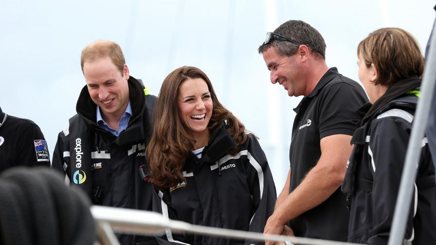 Кейт победи принц Уилям в надпревара с яхти