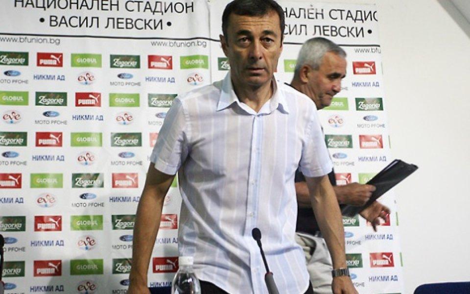 Пламен Марков: Не играхме защитно, искам хъса от мача с Италия