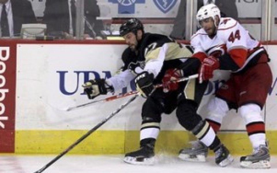 Питсбърг поведе на Каролина във финалната серия от Източната конференция на НХЛ