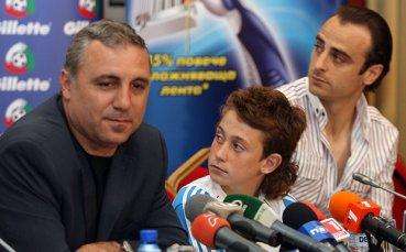 Стоичков разкри, че Бербатов е преговарял с Барселона