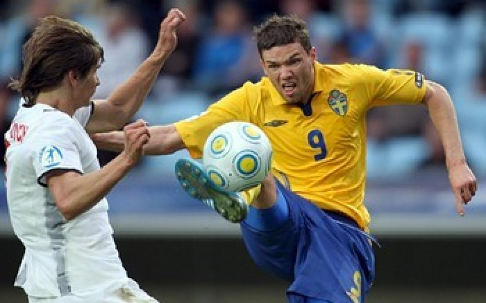 Швеция стартира с разгромна победа на Европейското