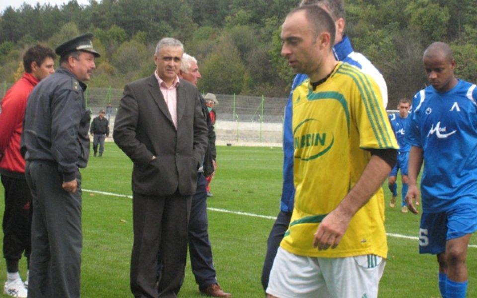 Новият треньор на Беласица проведе първа тренировка