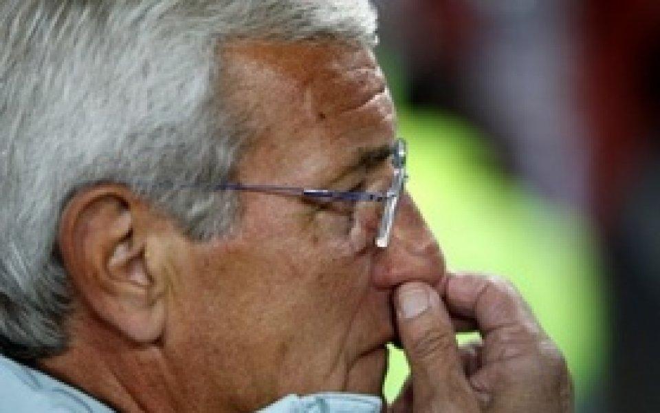 Липи: Тоти няма да играе срещу България