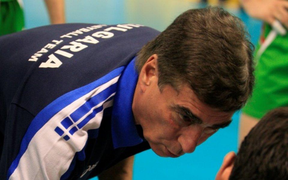 България е втората родина на треньора, който няма проблем с манталитета ни