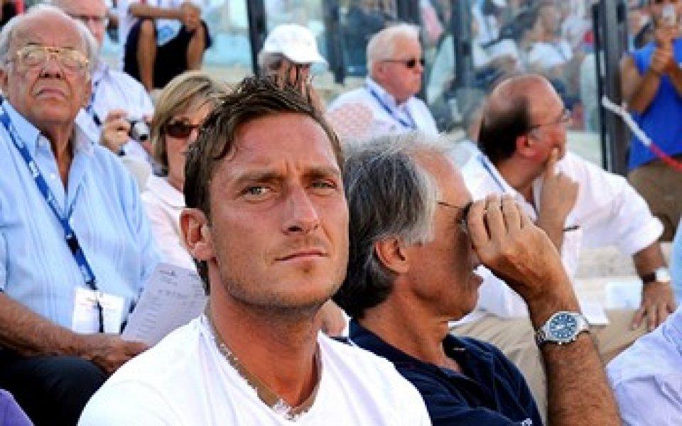 Тоти: Бившият президент на Рома ми беше като баща
