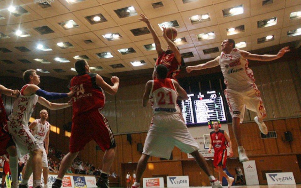 Баскетболистите ни загубиха втората си среща от Русия