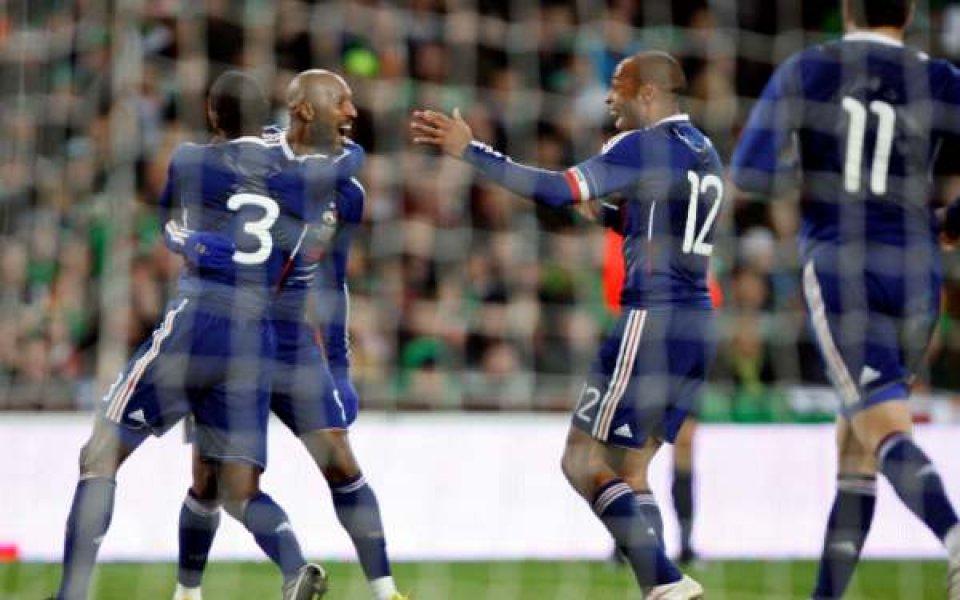 Франция спечели щастливо срещу Ейре