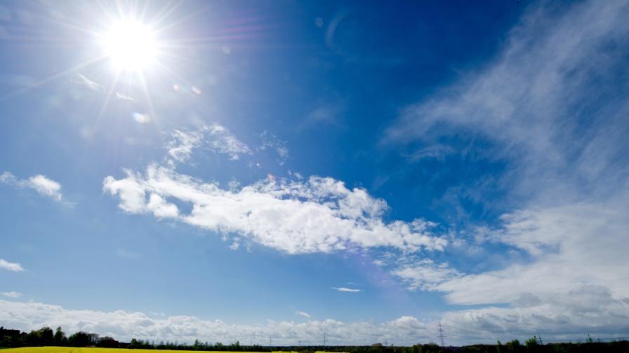 Слънце и валежи през седмицата