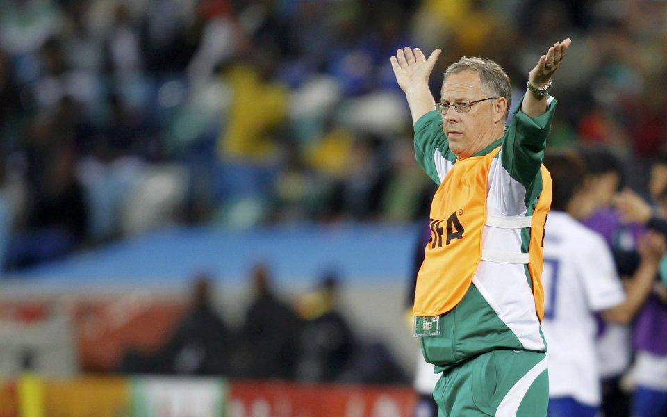 Ларс Лагербак напуска треньорския пост на Нигерия