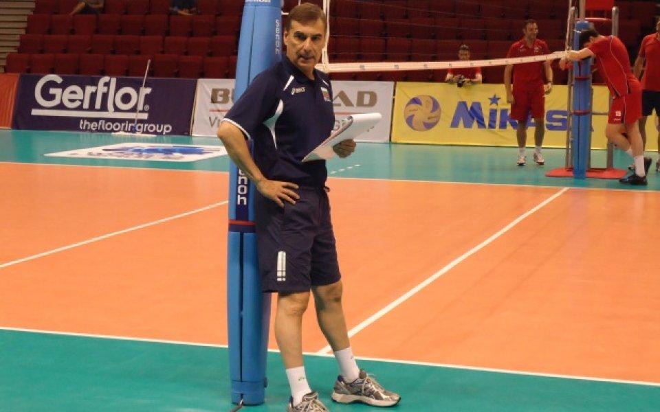 Силвано Пранди пое отново националния тим по волейбол